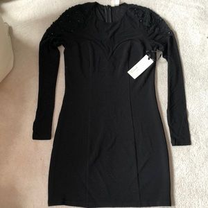 Black dress with detailing!